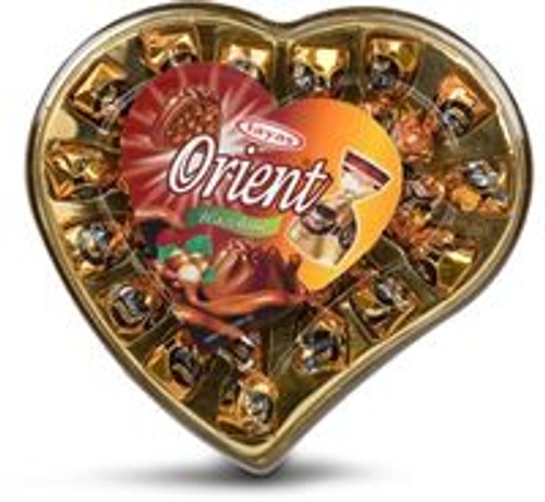 TAYAS ORIENT TRUFFLE HAZELNUT HEART CHOCOLATE 193GR