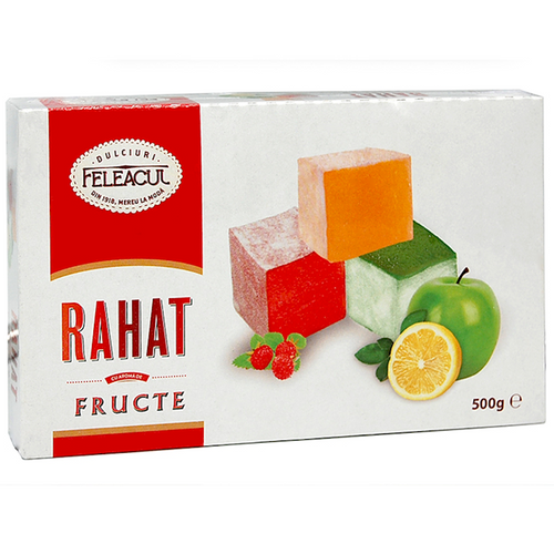 FELEACUL TURKISH DELIGHT w/ fruit flavor 500g