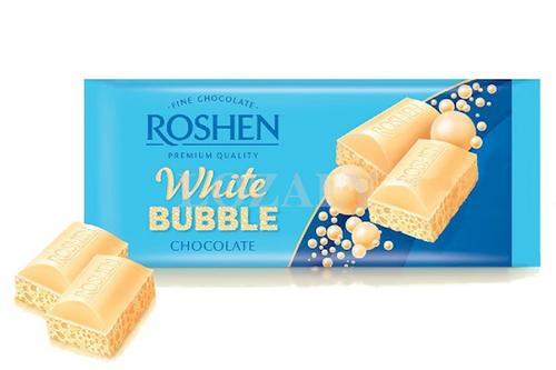 Roshen CHOCOLATE BAR AERATED WHITE 80g