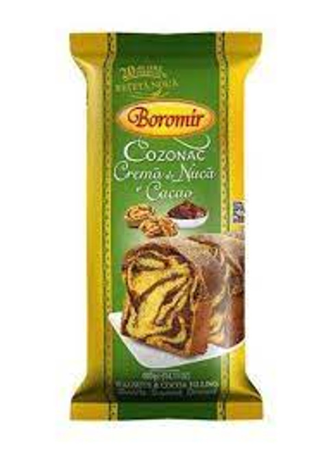Boromir COZONAC with Walnuts and Cacao 400g