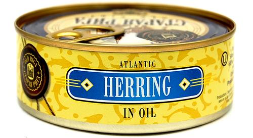 OLD RIGA Kosher Atlantic Herring in Oil E/O 240g