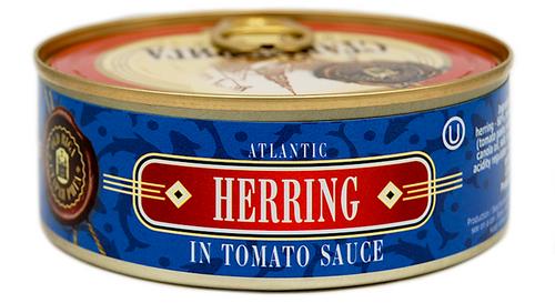 OLD RIGA Kosher Atlantic Herring in Tomato Sauce E/O 240g
