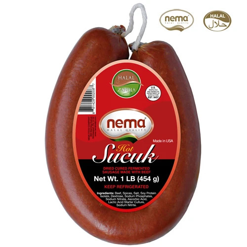 Nema Beef Soudjouk - Hot (1LB)