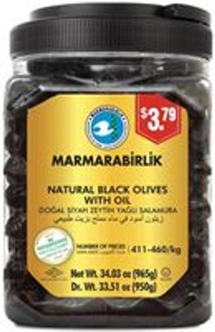 MB BLACK OLIVES 3XS  LUKS 950GR
