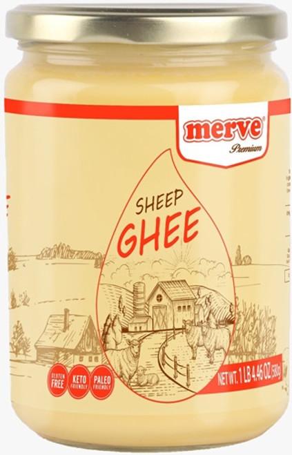 MERVE SHEEP GHEE (SADE YAG) 580GR GLASS