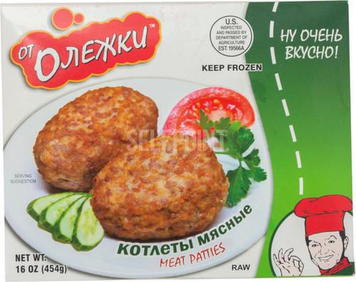 Ot Olezhki Meat Cutlets 454g