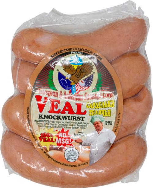 European & American Sausage Veal Knockwurst