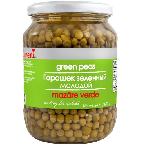 RAURENI GREEN PEAS  680g
