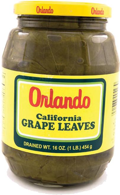 ORLANDO GRAPE LEAVES 16OZ GLASS