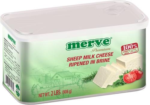 MERVE SHEEP CHEESE 908GR TIN