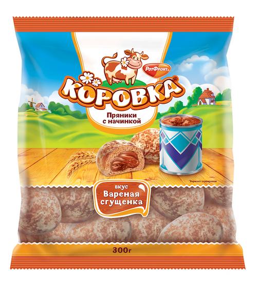 """""""KOROVKA"""" GINGER BREAD COND MILK 300G"""