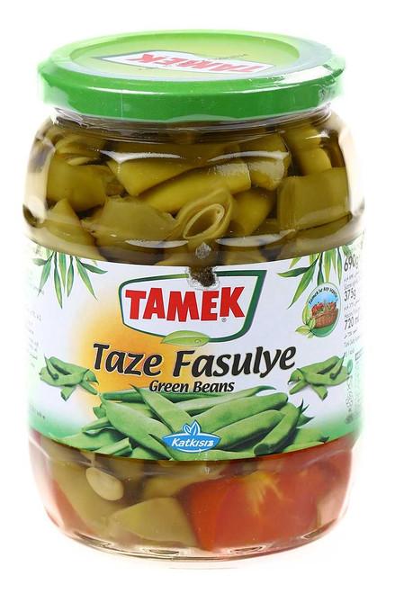 Tamek Taze Fasulye / Green Beans - 720ml