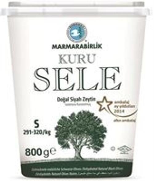 MB Dried Natural Black Olives 750g