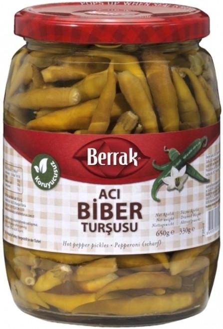 Barrak Hot Pepper Pickles 650g