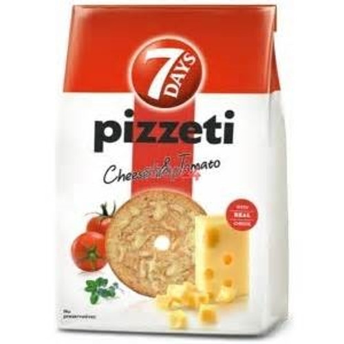 7 Days Pizzeti with Grana Padano and Tomato 160g