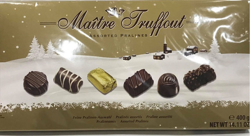 Maitre Truffout Assorted Chocolates 400g