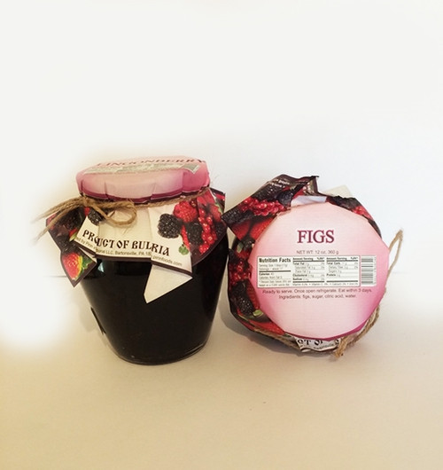 Natural Jam Figs 360g