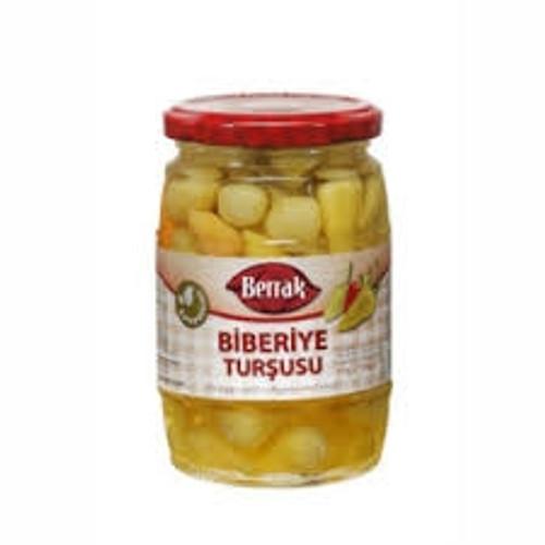 BERRAK Biberiye Hot Pepper Pickles (650 ml)
