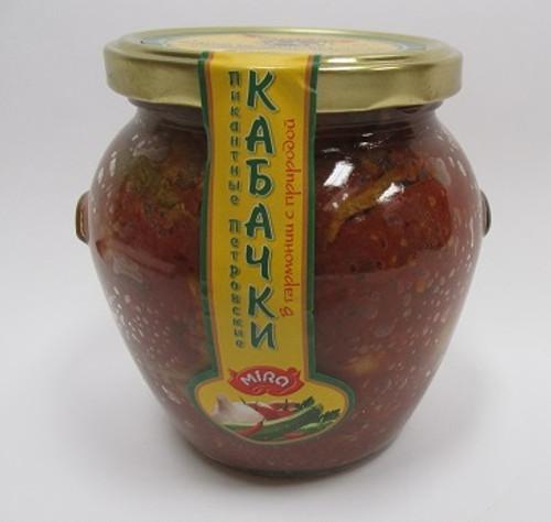 "Fried Zucchini ""Petrovsky"" Kabachki 530g"