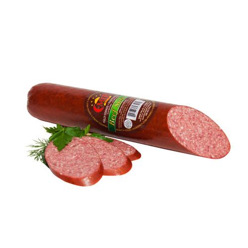 Premium Beef Salami – Long aprox 1.8lb