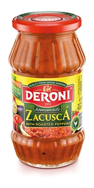 Deroni Homemade Zacusca w/ Roasted Peppers 500g