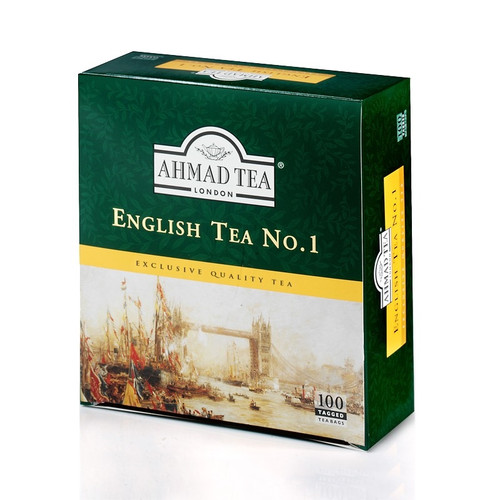 Ahmad English Tea No:1 - 100 Tea Bags / 200 gr