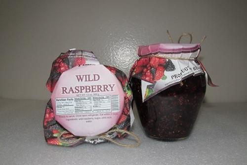 Natural Jam Wild Raspberry 360g