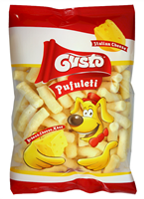 GUSTO MAIS SNACK CORN PUFFS w/CHEESE 80g