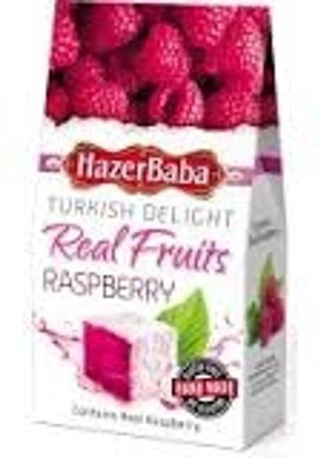 Hazerbaba Raspberry Turkish Delight 100G
