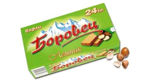 "Hazelnut Wafer ""Borovetz"" 24pcs 550g"