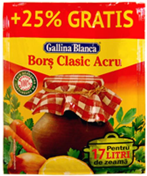 VEGETABLE MIX Gallina Blanca SEASONING BORSCH 50g