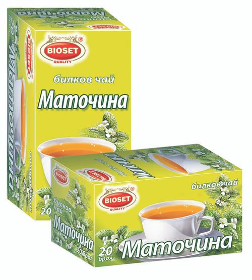 Herbal Tea Melissa 20pcs 30g