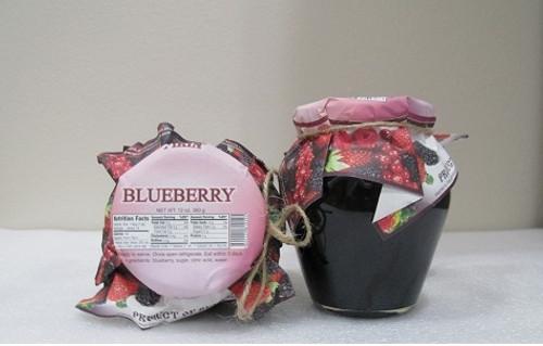 Natural Jam Wild Blueberry 360g