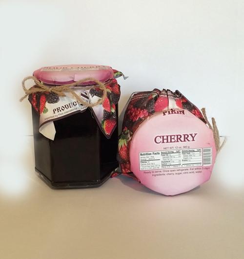 Natural Jam Red Cherry 360g