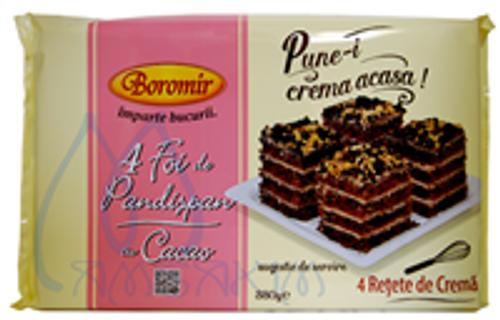 BASE CAKE w/ COCOA PANDISPAN 380g