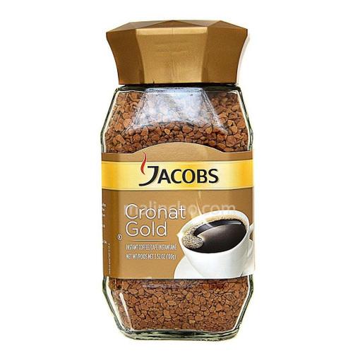 Jacobs Cronat Gold Instant Coffee 100g/3.5oz Glass Jar