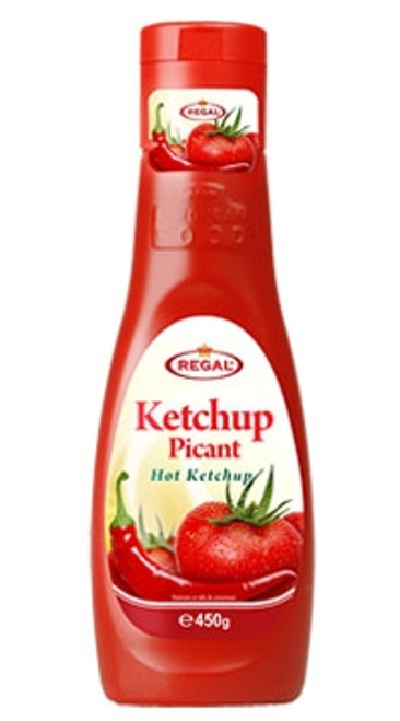 REGAL Hot Ketchup 450g