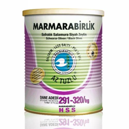 MB Natural Black Olives Can 400g