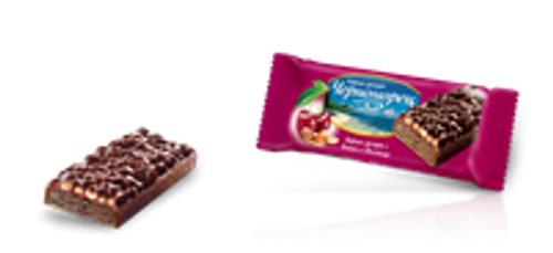 Chernomorets Wafer with Sour Cherry & Peanuts 80g