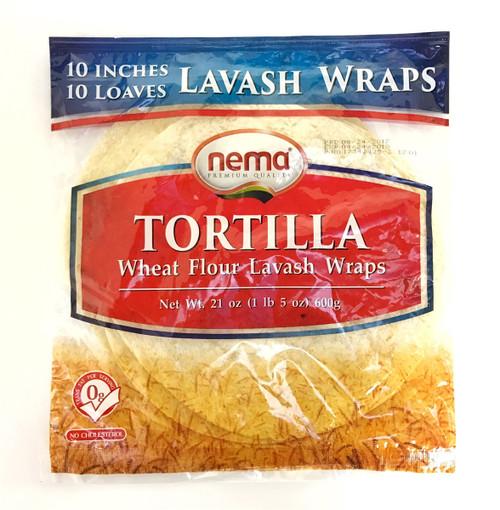 Tortilla - Lavash Wraps 10inch