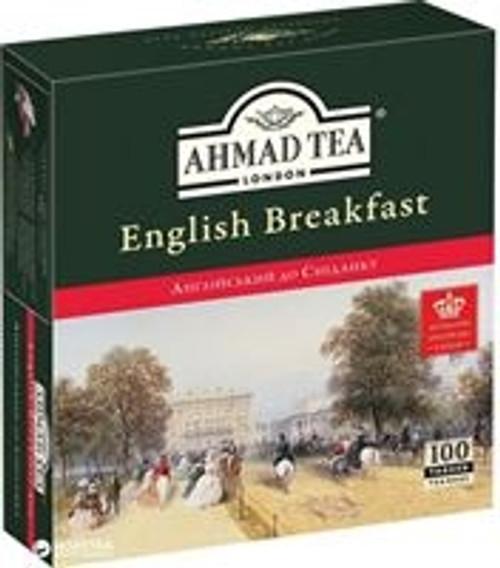Ahmad English Breakfast Tea 100Tb (Tag)