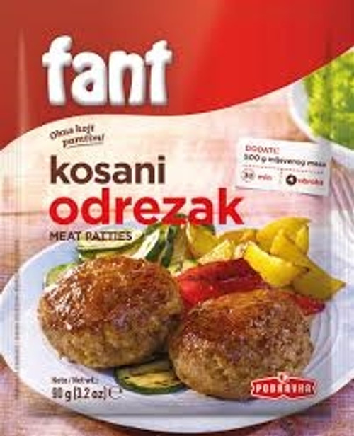 Fant seasoning mix for meat patties 90g