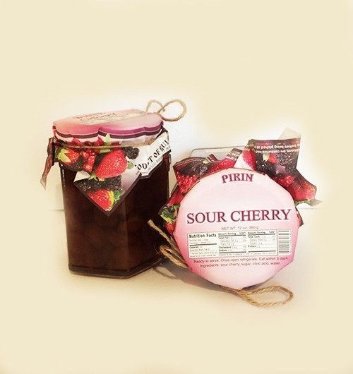 Natural Bio  Jam Sour Cherry 360g
