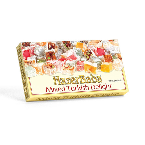 Hazer Baba Assorted Turkish Delight 454g