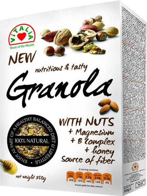 Granola w/ Mixed Nuts 350g