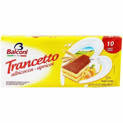 Balconi Trancetto Apricot Snack Cakes 9.9 oz. (280g)