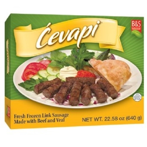 Brother and Sister Beef and Veal Cevapi 1.6 lbs