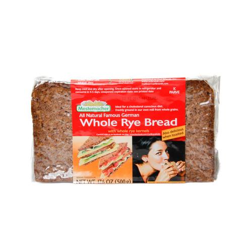 Mestemacher Whole Rye Bread 500g