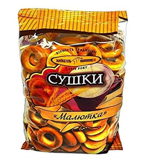 "Sushka Dry Rings ""Maliutka"" 340g"