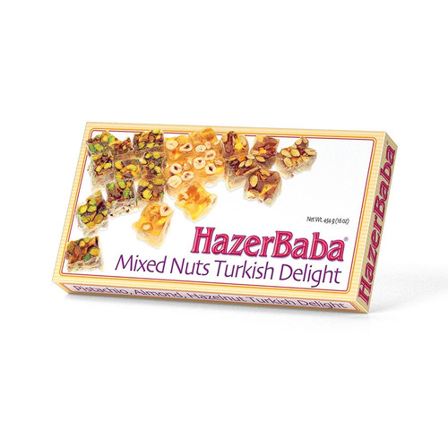 Hazer Baba Mixed Nuts - Turkish Delight  454g